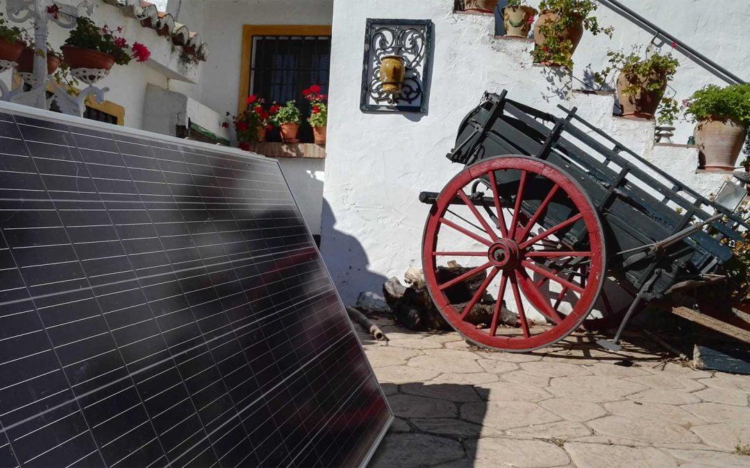 Instalación de Autoconsumo en los Montes de Málaga (Málaga)
