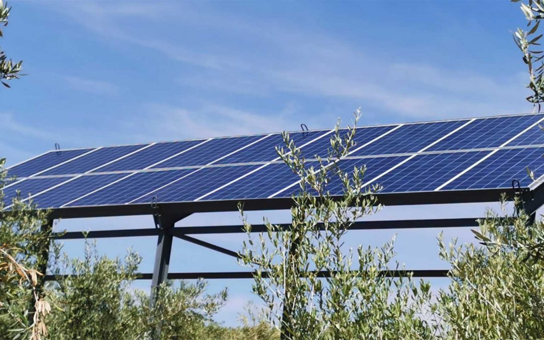 Bombeo Solar en Bailén (Jaén)