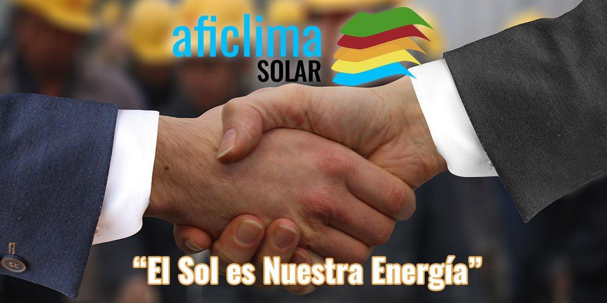 Aficlima Solar - El sol es nuestra energía